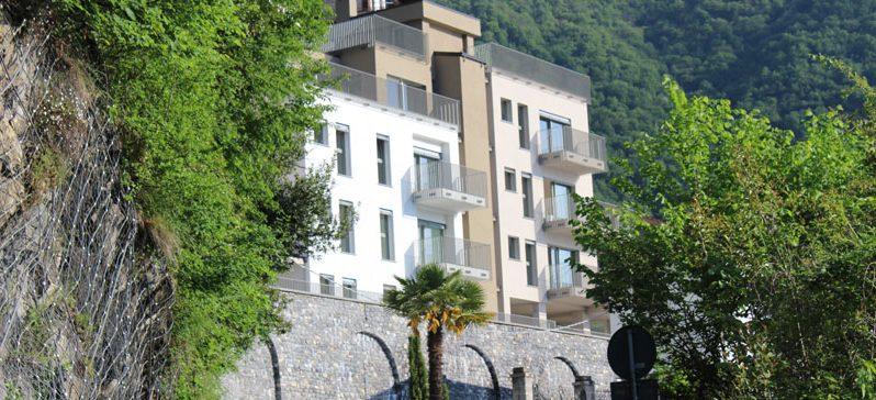 Argegno new development of luxury apartments